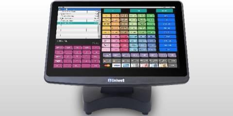 Uniwell HX-5500 ohne Standfuß ink. Software & Demoversion Gastro & TSE