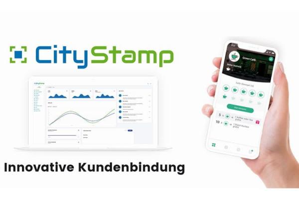 CityStamp Kundenbindungssoftware mit eigener App